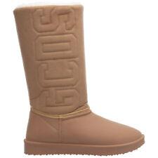 GCDS ankle boots women FW21W010098-13 logo detail Pelle Scamosciata shoes