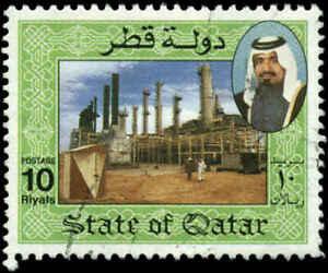 Qatar Scott #801 Used