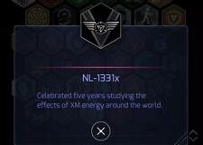 Ingress NL X badge medal (unused passcode)