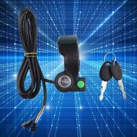 12V-99V Horn Switch Thumb Accelerator Display Battery Voltage Key Switch Lock