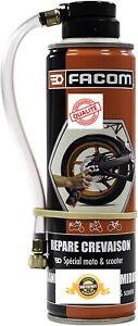 Bombe Répare Crevaison 2 Roues Moto Scooter Cyclomoteur Anti Crevaison