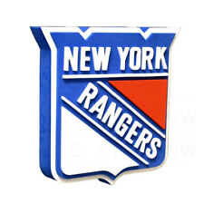 New NHL New York Rangers 3D Fan Foam Logo Holding Wall Sign Made in USA