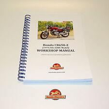Honda CB650 SOHC Quattro Originale Officina Manuale Di Negozio Libro