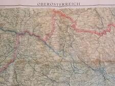 Vintage Map Oberosterreich 1:250,000 1937