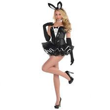 Playboy Bunny Costume Sexy Adult Fancy Dress Hostess Size 10 12 Halloween Rabbit