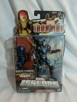 "Marvel Legends James Rhodes (War Machine) 6"" Action Figure BAF Iron Monger READ"