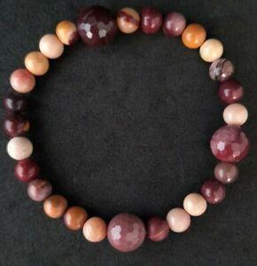 Agate beads pre loved bracelet