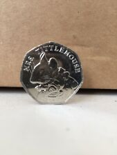 Mrs Tittlemouse - Beatrix Potter 50p Fifty Pence coin 2018 Uncirculated