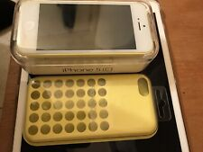 (NEW) Apple iPhone 5c 32gb Unlock Yellow W/ White Screen (Only 2 in The World!!)