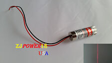 1pc 3~6V 5MW 650nm Adjustable Straight Red Laser Line Module Laser Head
