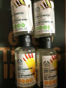 Body Shop Coconut & Mango Hand Cleanse Gel two Of Each