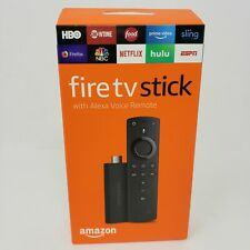 Amazon Fire TV Stick Media Streaming 2nd Generation Alexa Voice Remote Sealed
