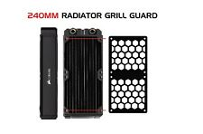 HEX - 240MM GTX Computer Radiator Cover Plate Water Cooling Fan Guard Grill PC