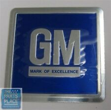 68-77 Chevy Chevelle / Nova & Buick Skylark / GS Metal Door Jamb Decal - Blue