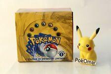 Pokemon Base Set 1st edition Spanish Booster Box - Empty Display  -
