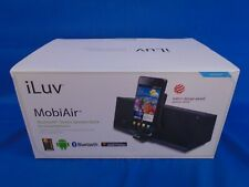 Bluetooth Stereo Speaker Dock for Android/Bluetooth iLuv MobiAir ISM378BLK-01