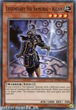 SPWA-EN010 Legendary Six Samurai - Kizan Super Rare 1st Edition Mint YuGiOh Card