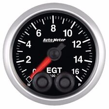 FITS FORD DODGE CHEVY ETC AUTO METER  ELITE SERIES PYROMETER GAUGE 0-1600F