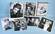 Actress Eleanor Parker 7 Original Printer Press File Photos w/Captions 1947-1969