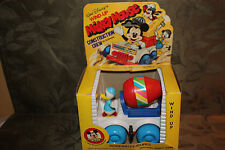 Walt Disney Wind-Up Mickey Mouse Construction Crew by Durham Vintage Donald Duck