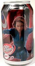 "FULL NEW 12oz Diet Dr. Pepper ""Avengers – Black Widow"" Limited Edition USA 2012"