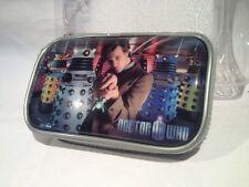 Dr Who Zip Case Bag for Nintendo DS Lite/DS/DSi David Tennant as the Dr & Daleks