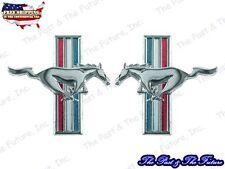 Running Horse Emblem - R&L - Pair / 2 PCS MSEM6466-1P