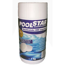 Poolstar Wasserpflegemittel Quattrotabs 1kg organisch für Sandfilter NEU