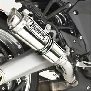 Hurric SP Edelstahl Auspuff Honda CBF 600 Typ PC38 2004-2007