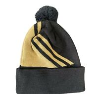 WINTER GOLF THERMO THERMAL BEANIE / BOBBLE HAT @ 40% OFF RRP !!!! New Black/Gold