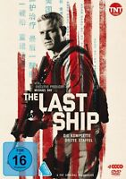 THE LAST SHIP-STAFFEL 3 - DANE,ERIC/MITRA,RHONA/BALDWIN,ADAM 4 DVD NEU