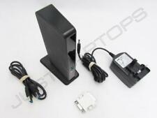 Dell Latitude E7250 USB 3.0 Port Replicator Dock w/ DVI-I Video Output Inc PSU