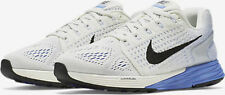 WOMEN'S NIKE LUNARGLIDE 7 RUNNING SHOES SIZE 7 WHITE/BLUE FLYKNIT 747356 104 NEW