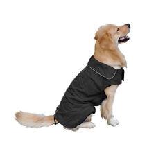 Vêtements et chaussures noires imperméable pour chien