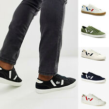 Mens Lacoste Sideline Shoes Canvas Trainers Lace Up Sneakers NEW