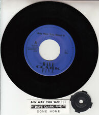 "DAVE CLARK FIVE  Any Way You Want It 7"" 45 rpm record + juke box title strip NEW"