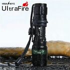 Ultrafire 5000LM Flashlight Zoom CREE XM-L Q5 LED Adjustable Torch Light 18650