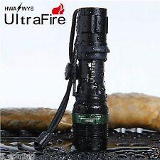 Ultrafire 5000LM Flashlight Zoom CREE XM-L Q5 LED Adjustable Torch Light 18650