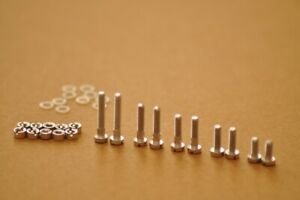 Cartridge Headshell Aluminium Bolts Screws Nuts Phono Mounting Kit High Quality