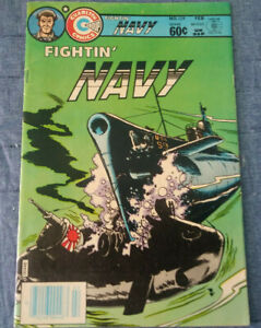 Charlton Comics FIGHTING NAVY Issue #129 Very Good Condition