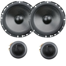 """Alpine S-S65C S-Series 6-1/2"""" 80W RMS 2-Way Component Speaker System Comp NEW"""