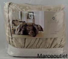 Hotel Collection Classic Flourish QUEEN Bedskirt Beige