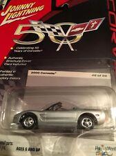 50th Anniversary- 2000 Corvette Convert Johnny Lightning 1:64 Die-Cast  #46of 50