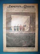 La Domenica del Corriere originale 22 Marzo 1925 Lama Tibet Wilson Tampa Parigi