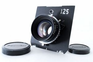 Fuji Fujinon W 125mm f/5.6 Large Format Lens Copal Shutter From Japan [Exc+++]