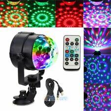 New listing Usb Rgb Dj Disco Stage Light Club Party Effect Crystal Magic Ball Remote Control