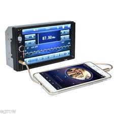 7'' inch HD 2 DIN Car Radio Stereo Media Player Bluetooth AUX USB TF FM MP3 MP5