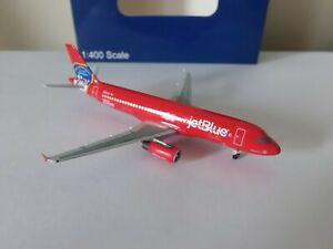 Aeroclassics JetBlue A320 Diecast 1/400 Model N615JB NYFD