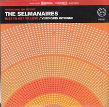 """the selmanaires just to get yr love 7""""  red vinyl"""