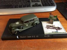 Solido 50th Anniversay D-Day Limited Edition Packard Sedan U.S H.Q 1944-1994